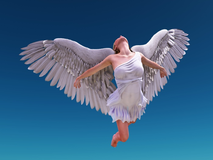angel flying up to heaven - photo #19