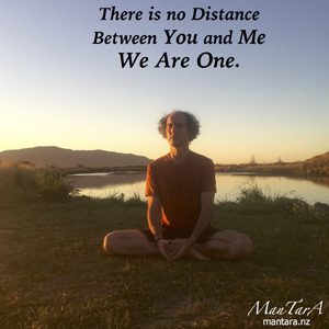 there is no distance, we are one