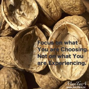 Focus on what you are choosing