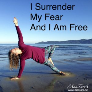 I Surrender My Fear